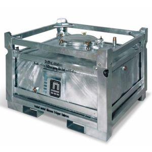 Container ASF colectare si transport lichide periculoase, perete dublu, V=280 litrii