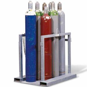 Dispozitiv transport 8 butelii gaz