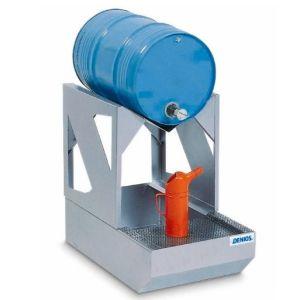 Stația de umplere AS-C din oțel zincat cu suport zincat pentru 1 butoi de 60 litrii