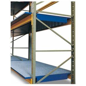 Vana retentie raft SRW 26.8 din oțel vopsit cu grilajzincat pentru rafturi cu lățime de 2600 mm