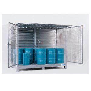 Container FS 305 pentru 10 butoaie de 200 l
