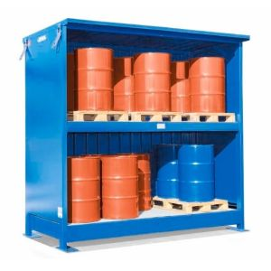 Container 2G 314.O, 20 butoaie a 200 l