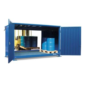 Container 1G 326.O, 20 butoaie a 200 l