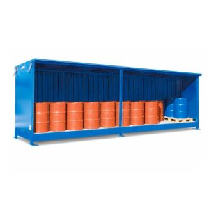 Container 1G 614.O, 20 butoaie a 200 l