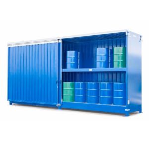 Container  2G 614.O, 40 butoaie a 200 l