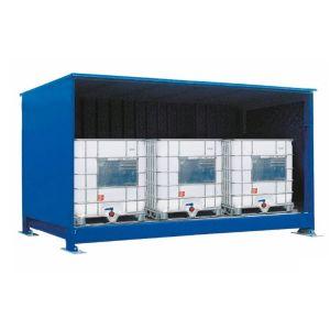 Container, 1K 414.O, 3 IBC de 1000 l