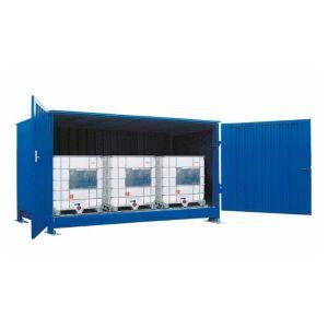 Container, 1K 414.OTE-ISO A, 3 IBC de 1000 l