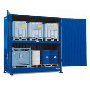 Container, 2K 414.O, 6 IBC de 1000 l