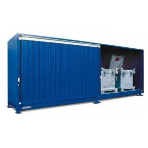 Container, 1K 714.O,  6 IBC de 1000 l