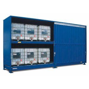 Container, 2K 714.O, 12 IBC de 1000 l