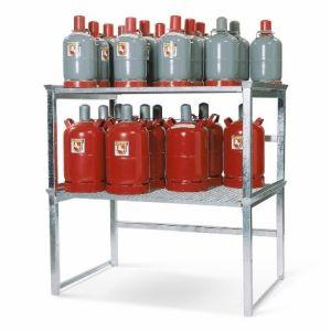 Rafturi depozitare butelii de gaz
