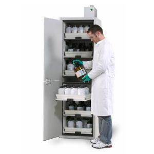 Dulap de depozitare acizi si baze SL 606 cu deschidere usa spre stanga