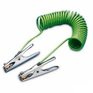 Cablu de impamantare 5 m, 2 clesti