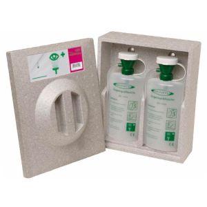 Cutie de perete pentru 2 sticle de solutie oculara de 600 ml