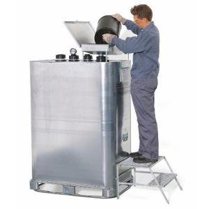Rezervor pentru depozitare si eliminare TA 1000, volum 1000 litri