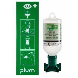 Statie de urgenta pentru ochi cu suport de perete pentru 1 recipient de 500 ml