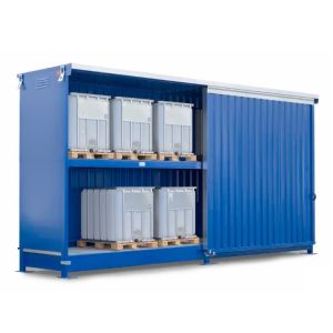 Container 2K 714.OST-ISO A, 12 IBC 1000 l