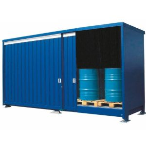 Container 1G 614.OST-ISO A, 20 butoaie a 200 l