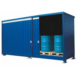 Container 1P 814.OST-ISO A, 24 butoaie de 200 l