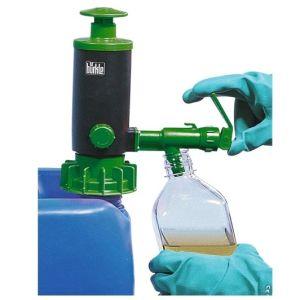 Pompa manuala  cu garnitura  FKM, verde