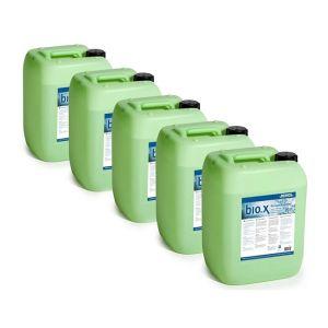 Set solutie de curatare bio.x 5 x 20 litri