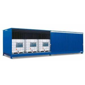 Container, 1K 714.OST-ISO B, 6 IBC de 1000 l