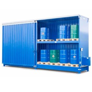Container 2P 814.OST-ISO B, 48 butoaie de 200 l