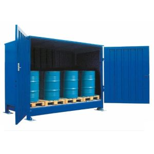 Container 1G 314.OTE-ISO B, 10 butoaie a 200 l
