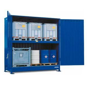 Container, 2K 414.OTE-ISO A, 6 IBC de 1000 l