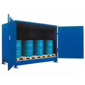 Container 1P 414.OTE-ISO B, 12 butoaie a 200 l