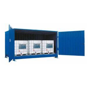 Container, 1K 414.OTE-ISO B, 3 IBC de 1000 l