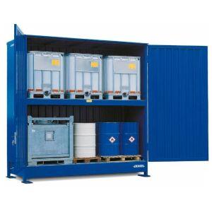 Container, 2K 414.OTE-ISO B,  6 IBC de 1000 l