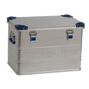 Cutie transport din aluminiu colt stivuire Confort 73 litri