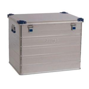Cutie transport din aluminiu colt stivuire Confort 243 litri