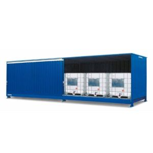 Container , 1K 714.OST-ISO A, 6 IBC de 1000 l