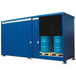 Container 1G 614.OST-ISO B, 20 butoaie a 200 l