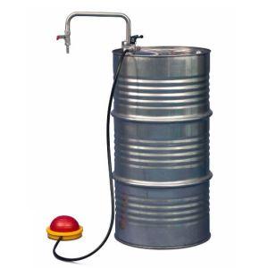 Pompa INOX, de picior pentru solventi