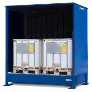 Container, 1K 214.O,  2 IBC de 1000 l