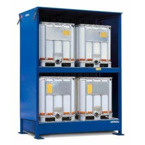Container, 2K 214.O, 4 IBC de 1000 l
