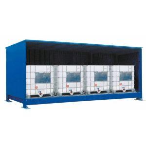 Container, 1K 514.O, 4 IBC de 1000 l