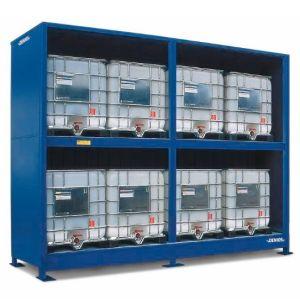 Container, 2K 514.O, 8 IBC de 1000 l