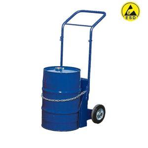 Carucior ESD otel vopsit  butoi 60 litri BK-60