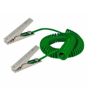 Cablu impamantare, 2 clesti MD, 3 m