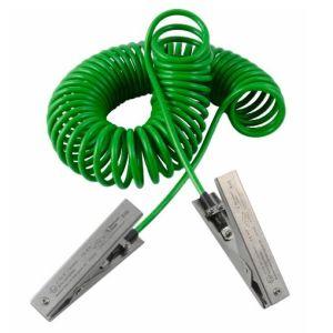 Cablu impamantare, 2 clesti HD, 5 m
