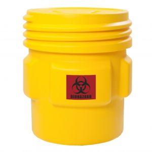 Butoi HDPE deseuri produse pericol biologic 361 litri