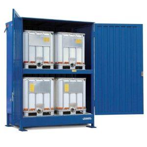 Container, 2K 214.OTE-ISO A, 4 IBC de 1000 l