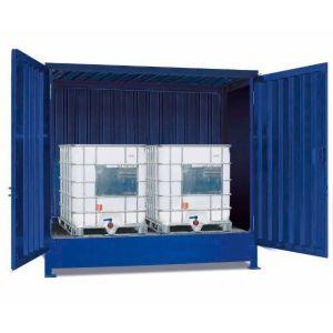 Container, 1K 214.OTE-ISO A, 2 IBC de 1000 l