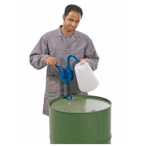 Pompa cu manivela rotativa, aluminiu usor