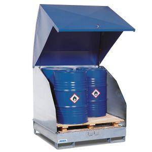 Statie 4 GST-KS-V50 otel zincat 4 butoaie 200 litri