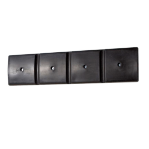 Profil protectie perete, din PE, negru, 1000x50x250mm, set=2 bucati